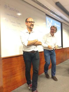 Presentado a Ricard Castellet antes de que diera su charla sobre Influencers en el #Bemarketingday de EADA el 2 de octubre 2014
