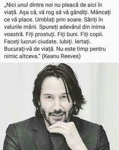 Live Your Life, Keanu Reeves, Beautiful Words, Motto, Cool Words, Brave, Qoutes, Leo, Spirituality