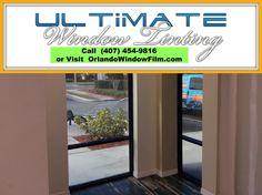 Anti-Graffiti Window Film - Orlando, Florida