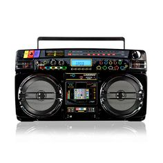 Music on pinterest ukulele giorgio armani and usb - Lasonic ghetto blaster i931x ...