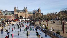 42 coisas que adoramos em Amesterdão | Viaje Comigo Travel Quotes, Travel Destinations, Louvre, Street View, Ice Rink, Viajes, Dreams, Stuff Stuff, Holland