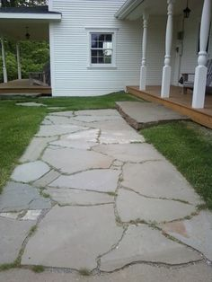 How to.   Natural stone patio and walkway building tips from a natural stone stonescape specialist, C.R. Stone.