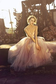 Tulle wedding dresses by Ouma