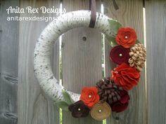 Hey, I found this really awesome Etsy listing at https://www.etsy.com/listing/243453470/fall-wreath-yarn-wreath-fall-yarn-wreath