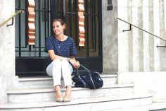 L'ancre Marine #blog #paris #marine #navy #sailor #mode #fashion #zara