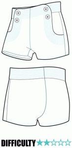 RP016 - Ralph Pink Patterns - Hot Pants