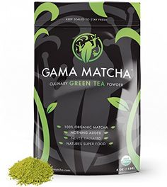 Matcha Green Tea Powder USDA Organic Stone Ground oz / 22 Servings) SUPER FOOD for Smoothies, Lattes and Baking Culinary Matcha Powder - Organic Matcha Green Tea Powder - Gluten Free, Sugar Free ** Check this awesome item pin : Fresh Groceries Organic Matcha Green Tea, Matcha Green Tea Powder, Matcha Benefits, Thing 1, Yummy Smoothies, Weight Loss Smoothies, Superfoods, Drinking Tea, Sugar Free