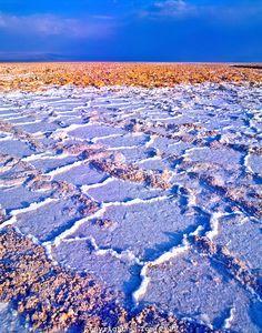 Salt Pan, Salar De Atacama Flamingo Reserve, Atacama Desert, Chile, South America
