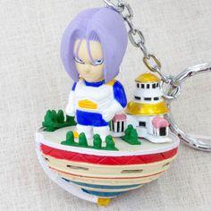 Dragon Ball Z Trunks God's Temple Figure Key Chain Banpresto JAPAN ANIME MANGA