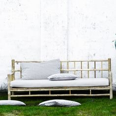Tine K bamboo sofa