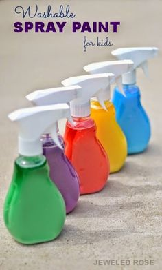 Washable+Spray+Paint+Recipe+Summer+Activity+for+Kids.jpg 450×746 pikseli