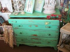 Painted weathered and handles made by Anita Spero