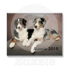 Australian Shepherd Aussie 2015 Calendar | Zazzle
