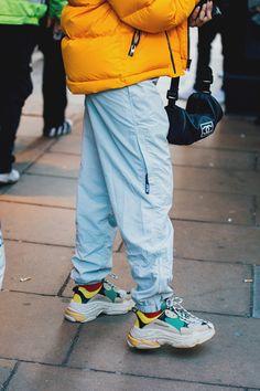 Street style à la Fashion Week homme automne-hiver 2018-2019 de Londres