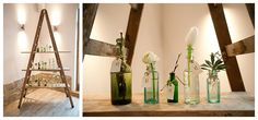 The Moat House Dorsington Wedding Shoot ~ Rustic Spring Reception Flowers Long Tables