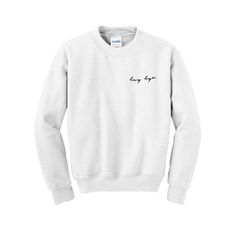 boy bye sweatshirt from teeshope.com This sweatshirt is Made To Order, one by one printed so we can control the quality.