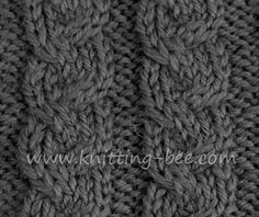 braided cable stitch