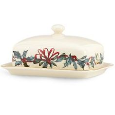 29 best lenox winter greetings images on pinterest holiday winter greetings butter dish m4hsunfo