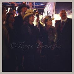 The Texas Tornados with the Mayor of Laredo.