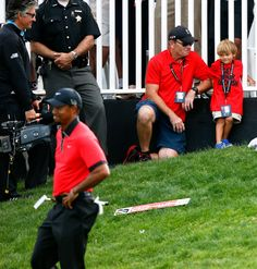 Tiger Woods' moment with son offers rare glimpse into family life Woods celebrated his WGC-Bridgestone Invitational victory with his son, Charlie.