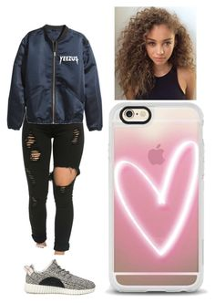 """""""Untitled #726"""" by ilianavaldez on Polyvore featuring adidas Originals and Casetify"""