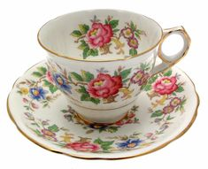 ROYAL STAFFORD Rochester Cup and Saucer - £24.99. Previously owned but in good condition. Standard size teacup and saucer, of first quality. Pattern is now a discontinued pattern. 361283698728