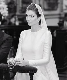 30 Cute Modest Wedding Dresses To Inspire ❤ modest wedding dresses simple a line with long sleeves vivabride Catholic Wedding, Modest Wedding Dresses, Homecoming Dresses, Formal Dresses, Wedding Veils, Wedding Bride, Quinceanera Dresses, One Shoulder Wedding Dress, Long Sleeve Wedding