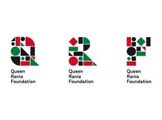 Queen Rania Foundation identity by toormix , via Behance