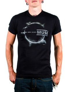 6914e05d6cf Black Mens Muse Eclipse T-shirt   Sonifly  15 Music Jokes