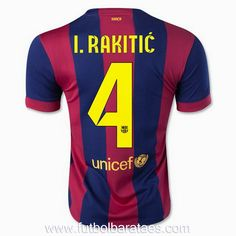 Nueva primera camiseta I.Rakitic 4 Barcelona 2015