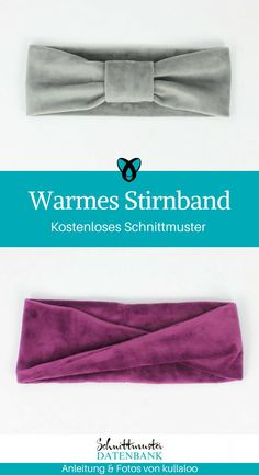 Warmes Stirnband , Headbands for the cold season are an integral part of our wardrobes! There is a video instruction from kullaloo for two different versions of the styl. Bandeau Torsadé, Warm Headbands, Diy Accessoires, Diy Mode, Twist Headband, Turbans, Ear Warmers, Little Girl Dresses, Free Sewing