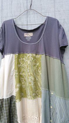 plus size upcycled Dress / romantic Upcycled / by CreoleSha