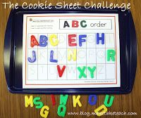 Classroom Freebies Too: The Cookie Sheet Challenge