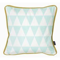 Little geometry cuscino menta - ferm LIVING | trend-HOUSE