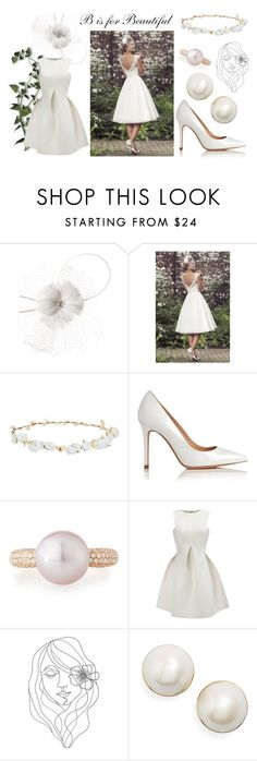 """""""Untitled #49"""" by selena-sok on Polyvore featuring Giovannio, Robert Rose, L.K.Bennett, Belpearl, WithChic, PBteen, Kate Spade, Spring and beautiful"""