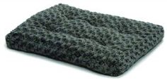 MidWest Quiet Time Pet Bed Deluxe Gray Ombre Swirl 21 x 12 Quiet Time Deluxe Ombre Swirl Pet Beds are made with an ultra-soft polyester that blends from light grey to charcoal color.