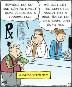 pharmacies Comic strips about
