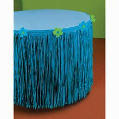 Discount Party Supplies | Hibiscus Tableskirts, Party Decorations