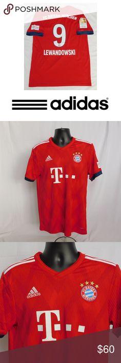 2019 Bayern Munich Lewandowski  9 Soccer Jersey Robert Lewandowski Jersey  Bayern Munich  9 match 7138c8851