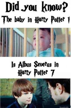 No, Baby Harry Potter From The First Film Didn't Play Albus Severus Potter In…