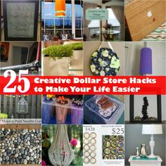 We all love to save time and money. Really, anything that helps to make life easier is just the greatest thing ever. We've gathered a great collection of 25 Dollar Store hacks that will help you to save time and money. From easy and cheap ways to keep your laptop cooler to surprising uses for...
