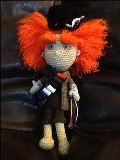 Human Amigurumi by mama24boyz Looks like the mad hatter from Tim Burton's version of Alice in Wonderland