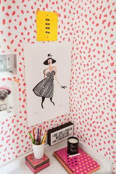 Self adhesive vinyl temporary removable wallpaper, wall decal - Cheetah pattern- 072 ETSY Cheetah Print Wallpaper, Bold Wallpaper, Temporary Wallpaper, Nursery Wallpaper, Colorful Wallpaper, Pattern Wallpaper, Self Adhesive Wallpaper, Adhesive Vinyl, Brighten Room