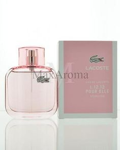 Lacoste L.12.12 Pour Elle Sparkling Eau De Toilette 3 oz 90 ml Spray for 401ac2e99f