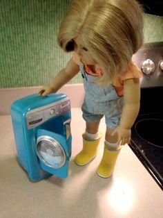 DIY American Girl Doll Washer