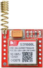SIM800L GSM Module with Helical Antenna | sim800 | Arduino