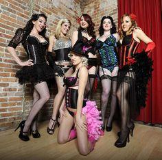 Women In Burlesque Costumes