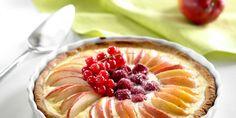 Pyöreä Jogurttipiirakka Sweet Pie, Let Them Eat Cake, Acai Bowl, Sweet Tooth, Sweet Treats, Cupcakes, Baking, Breakfast, Desserts