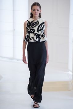 Christian Dior Fall 2016 Couture Fashion Show - Caroline Reagan