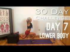 Day 7: Lower Body - Betty Rocker 30 Day Bodyweight Challenge